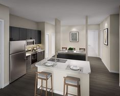 The Baldwin at St. Paul Square Rentals - San Antonio, TX | Apartments.com San Antonio, Apartments, Victoria, Kitchen, Table, Furniture, Home Decor, Cooking, Decoration Home
