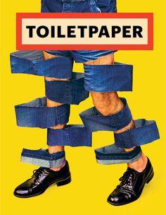 Toiletpaper magazine cover.  paperback release: February 2017