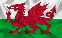 Download wallpapers Wales flag, Wales, Europe, flag of Wales