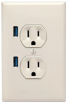 집안의 콘센트에도...USB단자를...^^