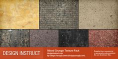 Mixed Grunge: Free Texture Pack