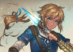 Link (Breath of the Wild) - Zelda no Densetsu: Breath of the Wild - Zerochan Anime Image Board The Legend Of Zelda, Legend Of Zelda Breath, Zelda Wii, Link Zelda, Zelda Anime, Link Botw, Film Manga, Image Zelda, Forgetting The Past