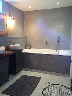 Beton-Cire badkamer