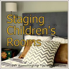 Home staging eBook by house staging expert Barbara Pilcher helps you sell your home fast with budget staging tips. Home Staging Cost, Shabby Chic Slipcovers, Sell Your House Fast, Room Themes, Kids Bedroom, Bed Pillows, Things To Sell, Stage, Bedrooms