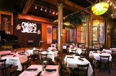 Andy's Jazz Club, Hubbard St., Chicago