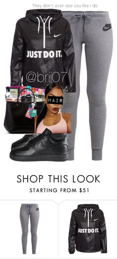 """Untitled #27"" by brii07 ❤ liked on Polyvore featuring NIKE"