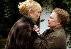 """Deliciously Psychotic Judi Dench and Deliriously Deluded Cate Blanchett in """"Notes on a Scandal"""""""