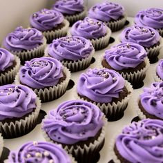 So Cupcake in Salt Lake City offers purple velvet cupcakes made specially for our Purple Day 5k