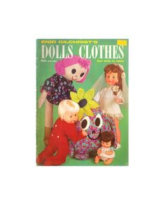 Enid Gilchrist Dolls Clothes - Drafting Book - PDF 48 pages Pdf Patterns, Craft Patterns, Vintage Patterns, All Sale, Doll Clothes, This Book, Dolls, Knitting, Sewing