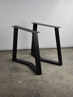 "28"" YAKO 80.40  Table Legs, Set of Steel Table Legs  Height 26"" To 32 SET(2)"