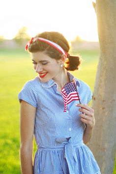 Retro Fourth of July Style