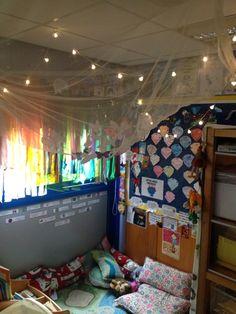 Classroom reading corner