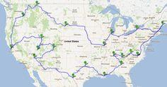 Motorcycle Trip--looks like a retirement trip