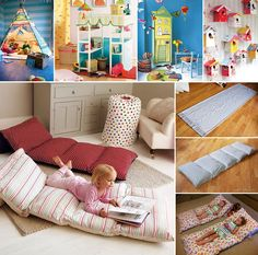 15 Fun Projects to Make For Your Kids Room - http://www.amazinginteriordesign.com/15-fun-projects-make-kids-room/
