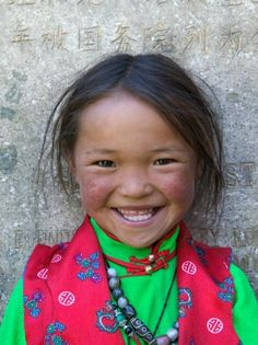 Young Tibetan Girl, Sakya Monastery, Tibet, China Poster Print by Keren Su Precious Children, Beautiful Children, Beautiful Babies, We Are The World, People Around The World, Tibet, Beautiful Smile, Beautiful People, Happy People