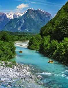 Places to go- Soča River, Slovenia.  One say I will visit on account of my 50% Slovenian heritage