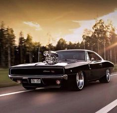 Badass Dodge Charger … just the best muscle car in my opinion! Badass & # 68 Dodge Charger … in my opinion the best muscle car! Cool Muscle Cars, Muscle Cars Vintage, Vintage Cars, Dodge Muscle Cars, Sexy Cars, Hot Cars, Dream Cars, 1968 Dodge Charger, Charger Rt