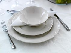 Ikea Arv dinnerware makes a good, inexpensive replacement to the West Elm dishes I had on our registry.