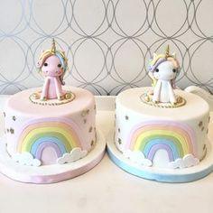 Ok, so we are still obsessed with making unicorn cakes! Ok, so we are still obsessed with making unicorn cakes! 4th Birthday Cakes, Unicorn Birthday Parties, Fondant Cakes, Cupcake Cakes, Gateaux Cake, Raspberry Smoothie, Girl Cakes, Savoury Cake, Birthday Cakes