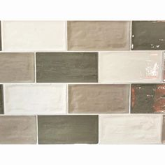 Rustico Avocado Brick Tile | 7.5x15cm Ceramic Planet Brick Tiles, Brick Wall, Metro Tiles, Tiles Online, Ceramic Wall Tiles, Handmade Tiles, Underfloor Heating, Cheap Kitchen, Wall And Floor Tiles