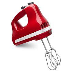 KitchenAid 5-Speed Ultra Power Hand Mixer, Ice Blue (KHM512IC) - Walmart.com - Walmart.com Kitchen Mixer, Small Kitchen Appliances, Red Kitchen, Kitchen Dining, Portable Mini Fridge, Empire, Stainless Steel, Canning, Cookie Dough