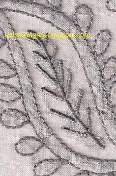 Lesson 7- Chikan embroidery sal