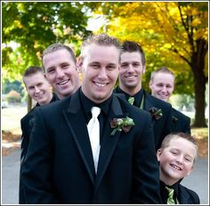 It's a guy thing  Boutonniers