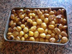 VIDA FELIZ: na Horta: Batatas Assadas no Forno a Lenha á moda de Trás-dos-Montes