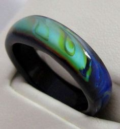 sterling rings moss agate green nature listing il ring wedding silver jewelry