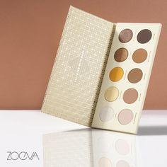 Delightful decadence. Graceful and elegant, our Blanc Fusion Eyeshadow Palette imparts the most sumptuous velvety-smooth, matte and shimmering eyeshadow shades. #ZOEVA #BlancFusion #eyeshadow