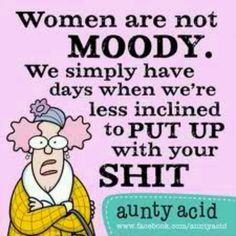 Aunty acid  is  the  best