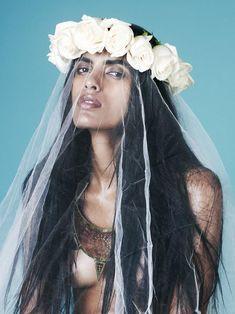 Scarlet Bindi - South Asian Fashion: Please! Magazine Fall/Winter 2012: Lakshmi Menon