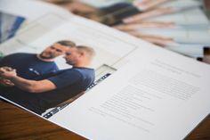 Präzision in Gestaltung und Produkt. Wir visualisieren, was der Kunde vertritt und schaffen so ein zugehöriges und authentisches Bild des Unternehmens. Material und Verarbeitung: Steppstichheftung  · Ungestrichenes Papier