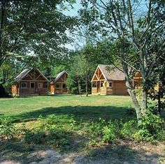Cabins And Cottage: Our dream bed and breakfast idea - individual cabi. Budget Friendly Honeymoons, Dreams Beds, Farm Stay, Cabins And Cottages, Cabin Rentals, Bed And Breakfast, Breakfast Ideas, B & B, Deco
