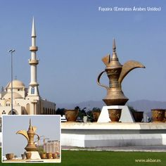 Fuyaira (también al-Fujairah, Fujairah o Fujaira) es uno de los emiratos más bonitos de los Emiratos Árabes Unidos. La ciudad está decorada con numerosas fuentes y composiciones esculturales con tradicionales motivos árabes. Uno de los monumentos interesantes en Fujaira es el monumento de la tetera con siete tazas alrededor.