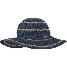 Columbia Early Tide Straw Hat - Women's Bluebell/Natural