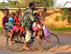 Transportation at it's best...Malawi Africa.
