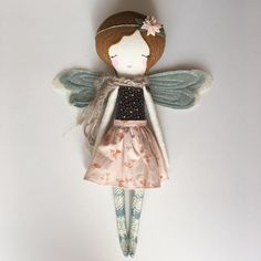 ✨Liberty Lavender Dolls -Heirloom Doll Fairy