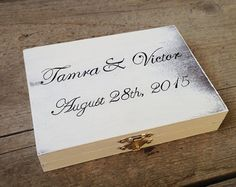 Personalized Ring Bearer Box Rustic Ring Bearer Box Rustic Wedding Ring Bearer Alternative Wood Ring Bearer Box Wedding Ring Pillow