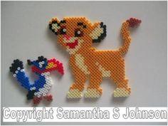 Zazu Simba Disney hama beads