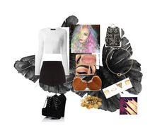 """""""Sing For Me #ChristinaAguilera"""" by diane-ds ❤ liked on Polyvore featuring Proenza Schouler, T By Alexander Wang, Michael Kors, Lumière, Charlotte Russe, Chanel and SM New York"""