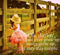 True! Stay young forever