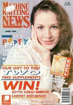 Machine Knitting News Magazine 1994.04 Free PDF Download 300dpi ClearScan OCR Translating patterns from Passap to Superba Similknit tips