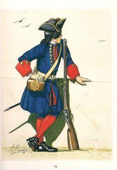MINIATURAS MILITARES POR ALFONS CÀNOVAS: LA AMERICA ESPAÑOLA .- Tropas de ultramar, Siglo XVIII.