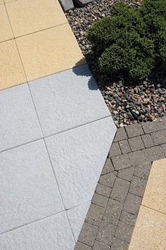 AG (Acheson + Glover): Canterra®, embossed concrete flags with granite 1 of 8 Granite Paving, Concrete Paving, Flagstone, Concrete Flags, Paving Flags, Landscape Architecture, Emboss, Conservation, Sidewalk
