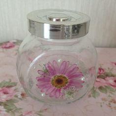 押し花のフォトフレーム&ガラス瓶! - お花に癒されて、、、