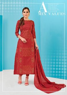 Buy Maroon unstitched suit at www.pukky.in! Free shipping to India , Outside India extra shipping cost . 45 days money back guarantee. Fashion Wear, Womens Fashion, Beautiful Suit, Work Suits, Salwar Suits, Anarkali, Dress Brands, Cotton Dresses, Casual Wear