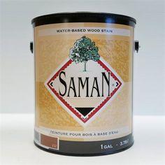 Saman TEW-212-4L Antique Walnut Waterbased Wood Stain