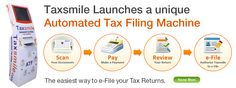 Taxsmile is an efiling portal to prepare and efile income tax return Online. Taxsmile helps individuals to file their income tax return in an easy, convenient and secure way. Income Tax Return, Filing