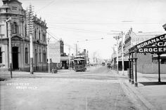 Union Rd in Ascot Vale,Victoria (year unknown).
